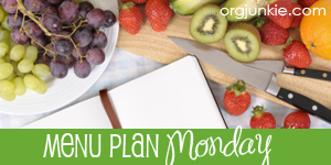 Menu Plan Monday ~ August 29, 2011