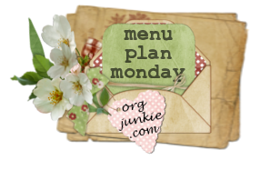 Menu Plan Monday ~ September 12, 2011