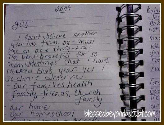 A Thanksgiving Blessing Journal