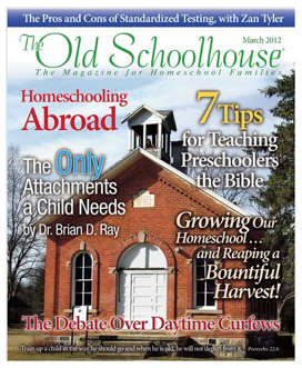 Old School House Magazine ~ Free March 2012