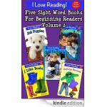 FREE Kindle Book – Five Sight Word Books for Beginning Readers Volume 2!