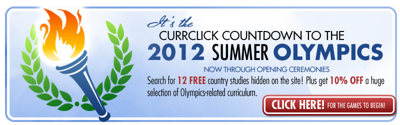 Engage the 2012 Summer Olympics with FREE Curriculum!