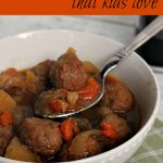 Easy Crock Pot Recipe – Meatball Crock Pot Stew!
