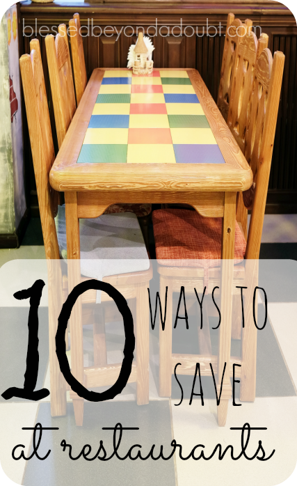 The TOP 10 Ways to Save at Restaurants! Do you agree?