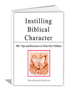 FREE Ebook on Christian Education - Instilling Biblical Character