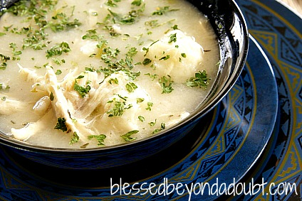 Crock Pot Recipes - Easy Chicken and Dumplings!  HUGE hit!