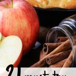 21 Must Try Apple Recipes for Fall!