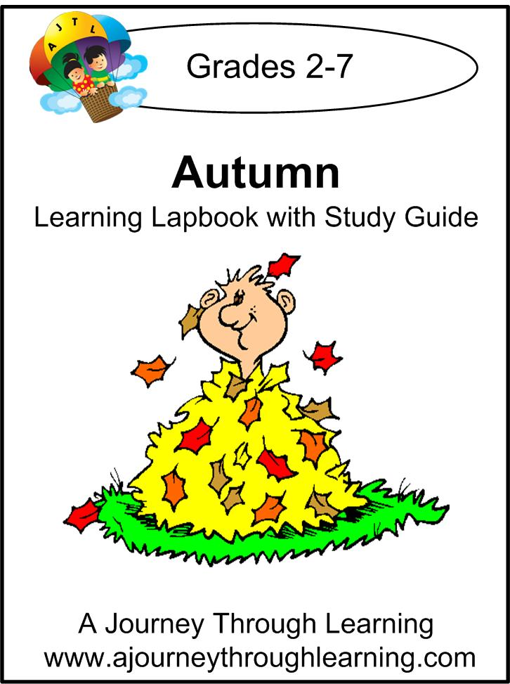 A FUN autumn lapbook to celebrate the season