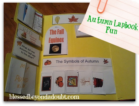 Fun Autumn Lapbook