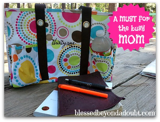 A must for all busy moms - Thirty-One Utility Tote