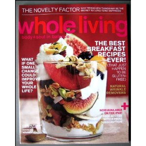 whole living magazine - Oct 2012