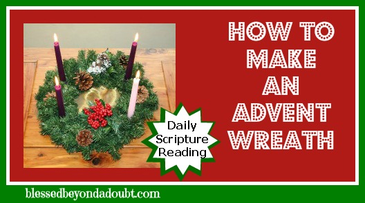 Celebrating with an Advent Wreath