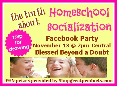 The truth about homeschool socialiaztion