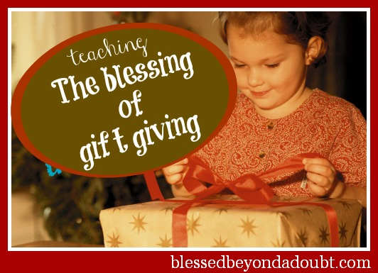The gift of giving Christmas Traditions