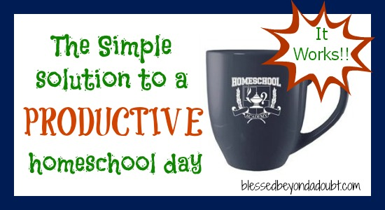 homeschool apparel mug