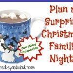 Hot Chocolate Family Night Idea