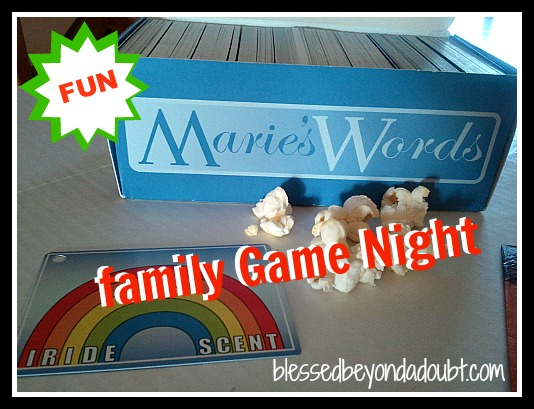 Super FUN vocabulary words game