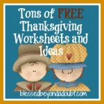 Tons of FREE Thanksgiving Worksheets and Ideas