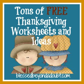 math worksheet : free thanksgiving worksheets and ideas!  blessed beyond a doubt : Kindergarten Thanksgiving Worksheets Free