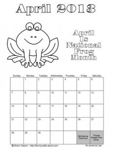free printable calendars 2013 blessed beyond a doubt