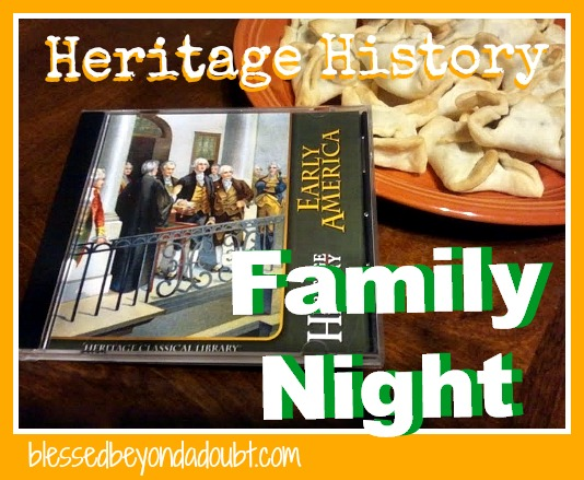 Heritage History Family Night