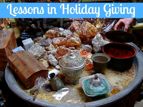 lessons in holiday giving