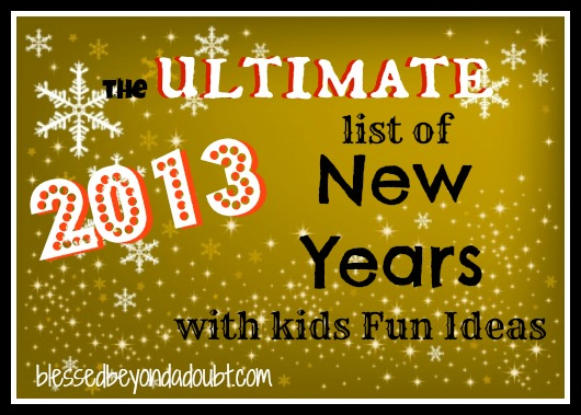 new years with Kids