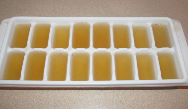 Bone broth: Ready for the freezer