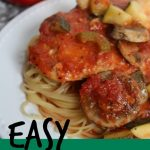 Easy Italian Crock Pot Chicken Recipe