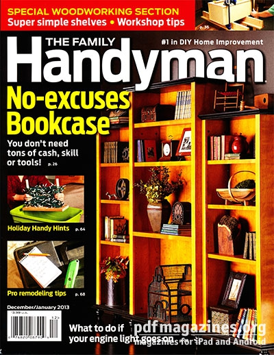 Family handyman magazine year blessed beyond a for The family handyman pdf