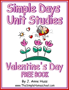 free simple schooling valentines day book blessed