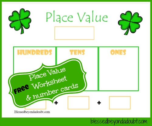 Counting Number worksheets : place value christmas worksheets ...