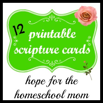 image about Free Printable Scripture Verses named 12 Scripture Verses for the Homeschool Mother - Free of charge Printable