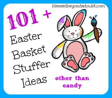 101 easter basket stuffer ideas other than candy and ultimate we dont actually do the easter bunny thing but we do celebrate spring with a few gifts in a big basket that my children share negle Gallery