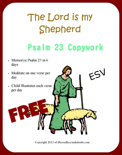 Psalm 23coverA