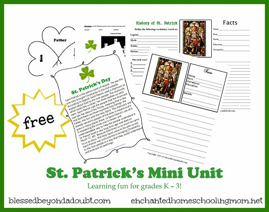 St. Patricks Day Mini Unit Main Image