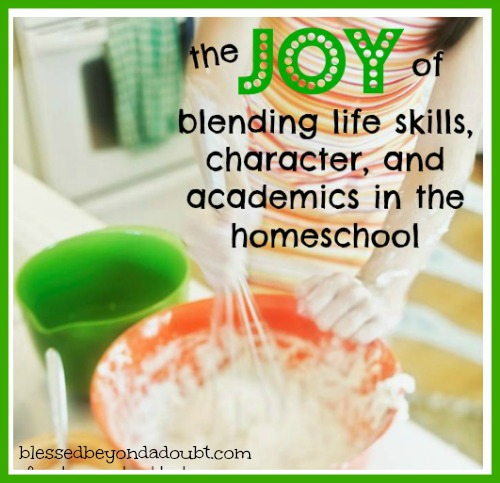 homeschool character