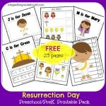 FREE Resurrection Day Preschool/PreK Printables Pack!