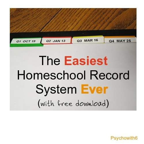 The Easiest Record System Ever (with free download)