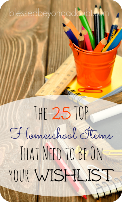 Home school items
