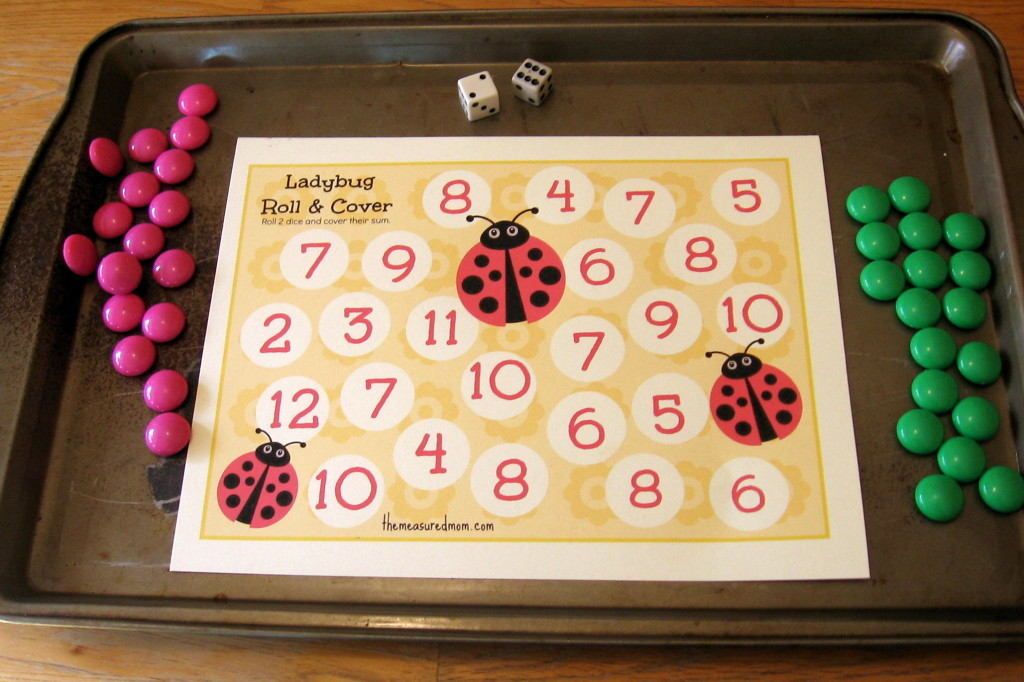 printable-addition-game-1-ladybug-roll-cover-the-measured-mom-1024x682