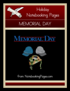 memorial day activities for kids - notebooking