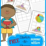 Sketch N Storiesis a FUN way to help get your kiddos to write this summer!