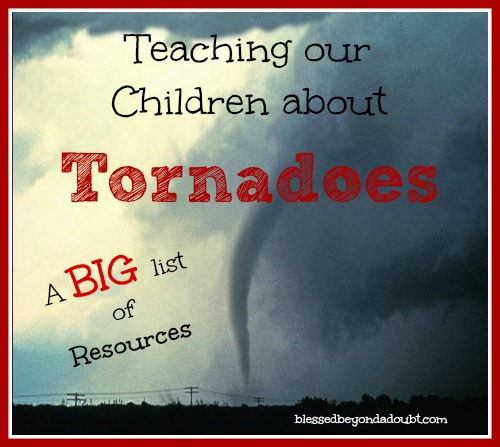 A big list of resources of tornadoes