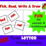 FREE 3-letter-words writing