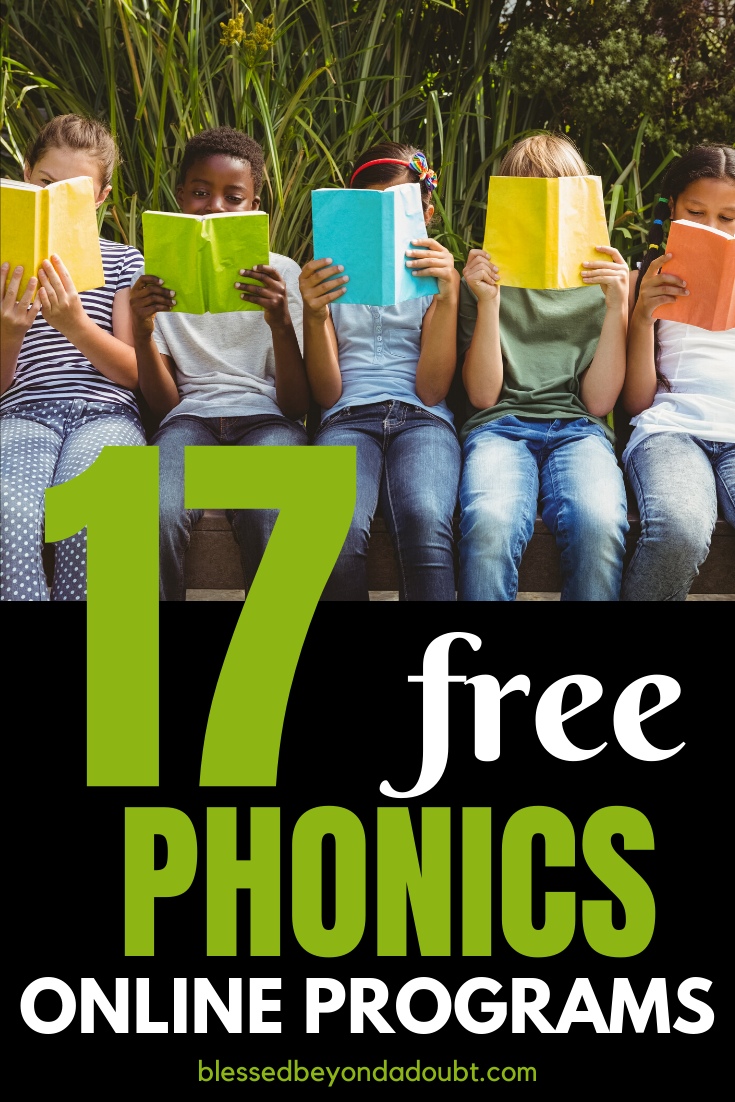 Here's a list of 17 free phonics online resources. Phonics doesn't have to break the bank. #phonicsactivities #phonicsworksheets #phonicsgames