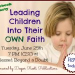 Leading Children Into Their Own Faith Facebook Party!