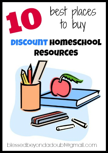 discount homeschool resources