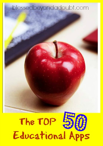 The TOP 50 Educational Apps for Children!
