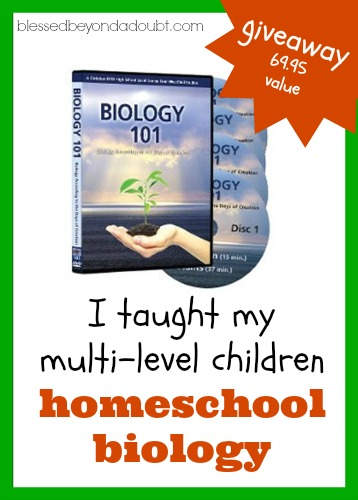 homeschool biology for multi-levels